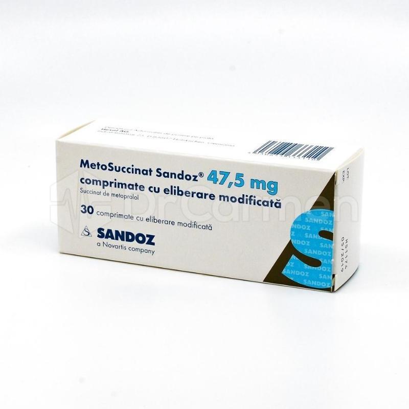 succinat de metoprolol și pierderea în greutate)