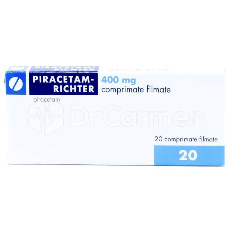 PIRACETAM-RICHTER mg COMPR. FILM. — Lista Medicamentelor Mediately